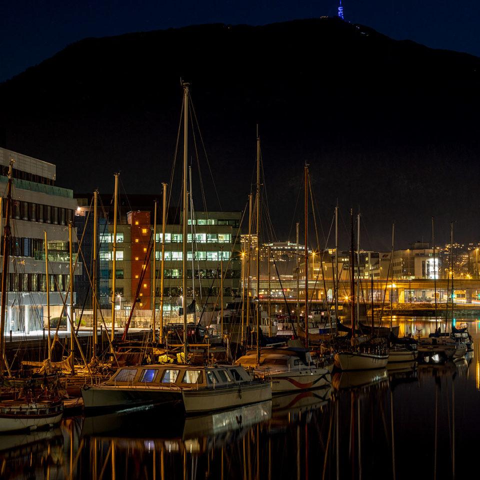 Damsgårdsundet i Bergen