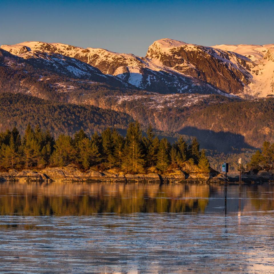 Fjellene i Masfjorden